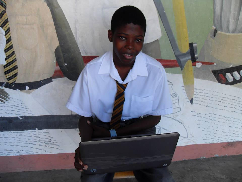 I Wish To Have A Laptop Computer - Kenneth Franklyn