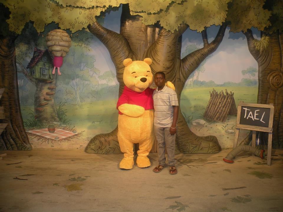 I Wish To Go To Disney World - Hasani Rowe
