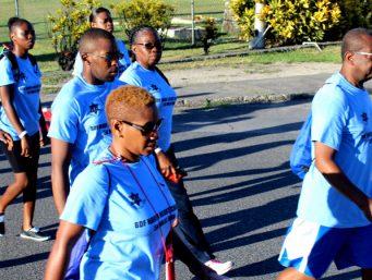 Digicel & BDF Charity Have A Heart Walk And Run